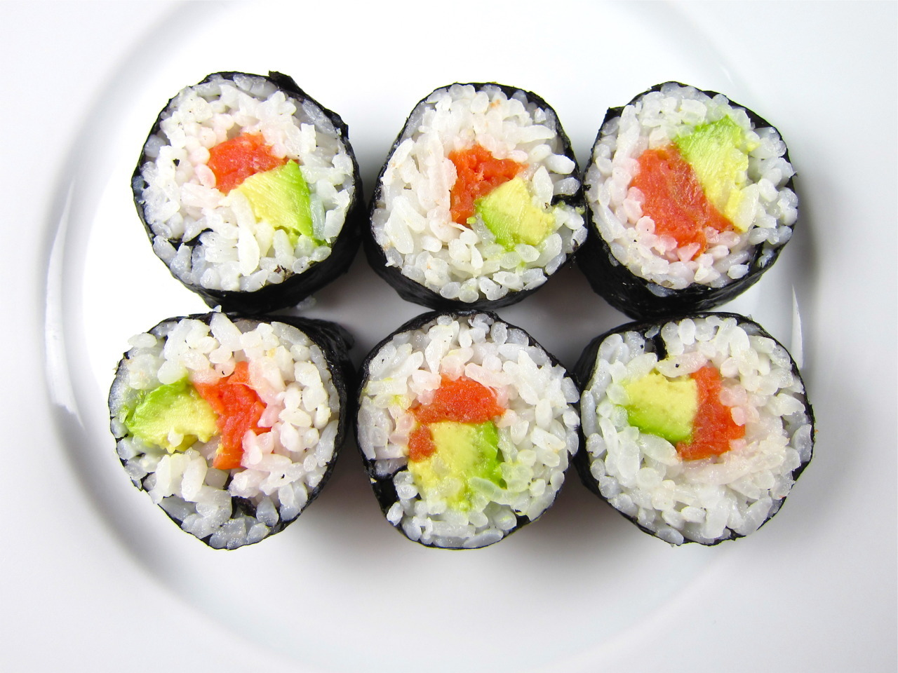 Smoked Salmon And Avocado Rolls