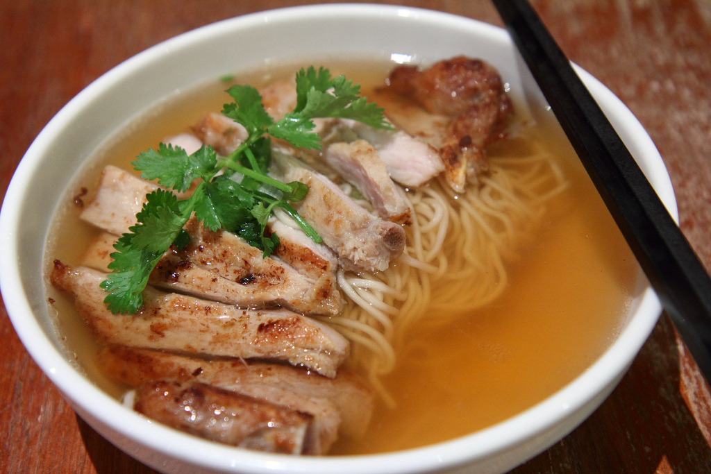 Pork Chop Noodle (by Anthony Leow)