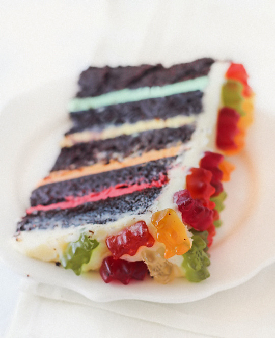 Recipe: Gummy Bear Layer Cake
