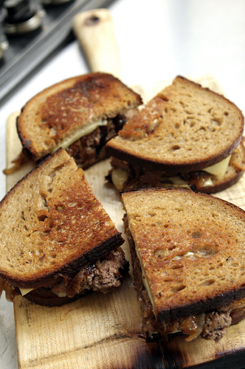 Burger Patty Melts