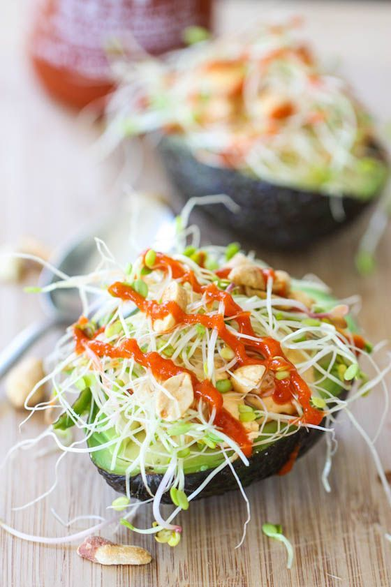 Thai Stuffed Avocados (x) By
