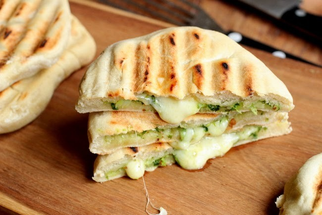 Grilled Naan Bread