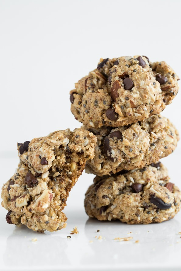 Irresistible Chewy Trail Mix Cookies (GF)