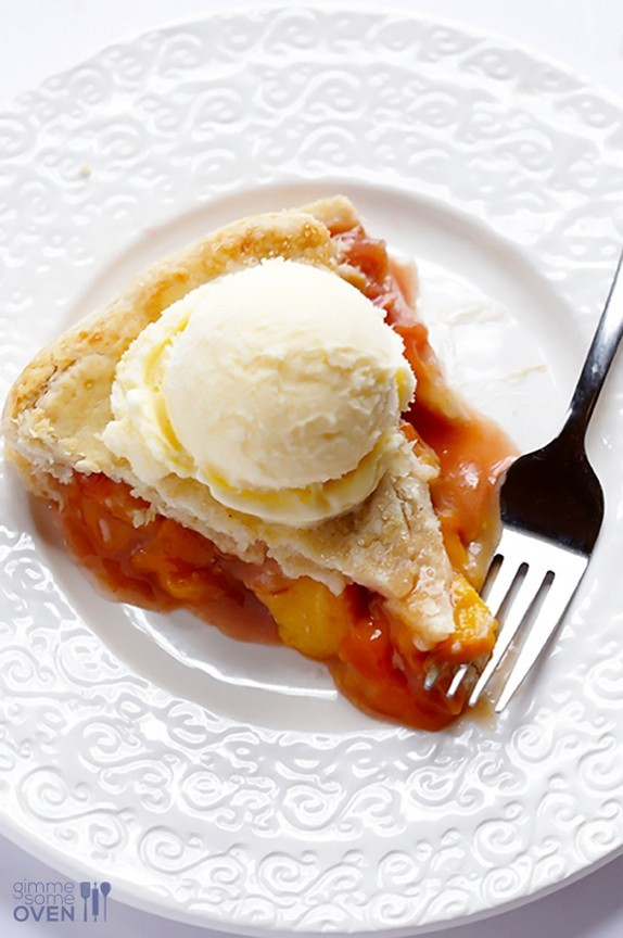Recipe: Peach Bourbon Pie