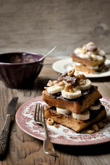 Stacked French Toast by ashafsk on Flickr.