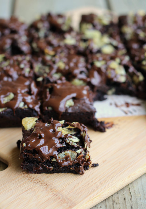 Recipe: Potato Chip Brownies